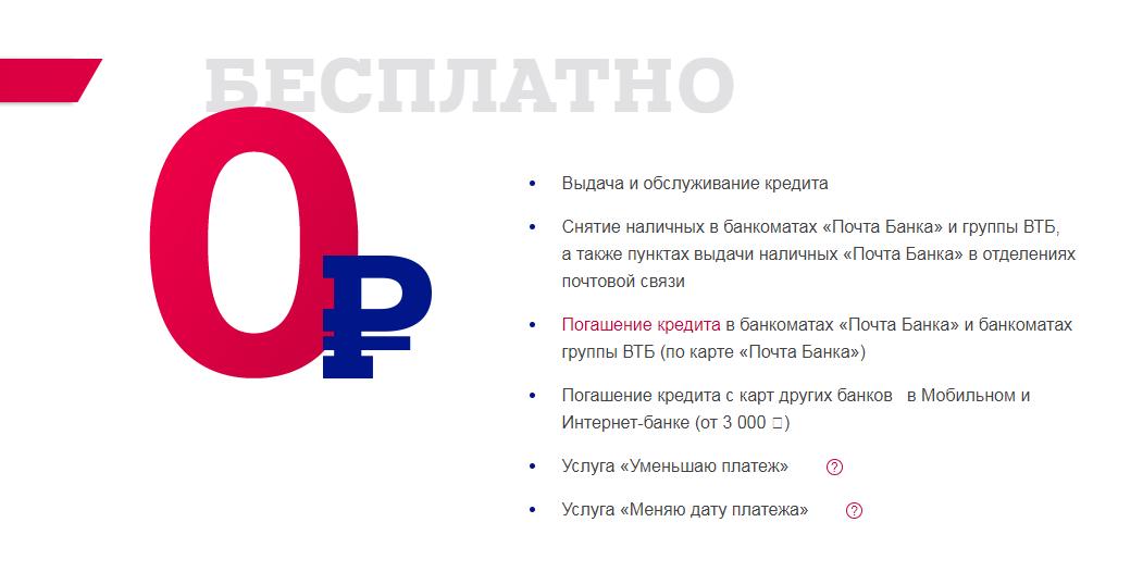 со скольки лет можно получить кредит в почта банке наличнымикредит наличными без справок и поручителей в день обращения в москве онлайн