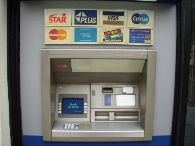 Как пополнить счет на телефон в банкомате