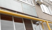 Управкомпания покрасила газопроводы в поселке Коломенского района по предписанию Госжилинспекции